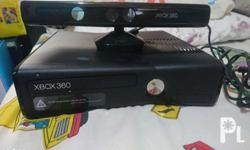 Xbox 360 with kinect (No controller), Price negotiable.