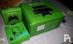 xbox one us version 500gb with kinect complete set just
