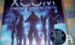 For Sale Unused code good as new XCOM Enemy Unknown