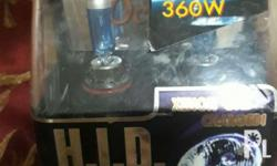 Xenon hid bulb 360 watt 12v. Made in korea...HB4 Brand