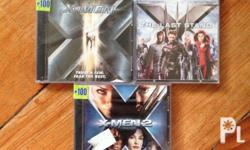 original xmen 1,2,3 vcd php200 only for the three cd,