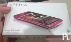 selling my well maintained xperia arc s pink edition