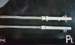 Original Honda XR200 Front Fork assembly with butterfly