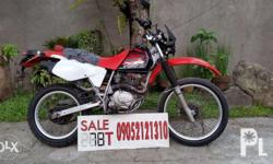 Honda XR200 good running condition complete papers or