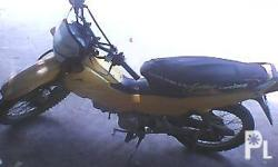 XRM110cc 2005 Stock with OR AND CR