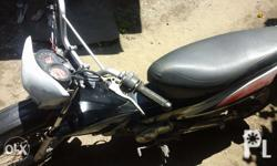good engine condition, double disk brake with complete