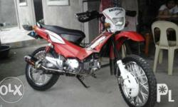 Honda xrm 110 motorcycle, gasoline, liftered and