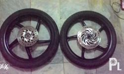 XRM 125 Motard Stock Mags + CST Tires (Front 2.5 / Rear