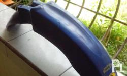 xrm front fender color blue stock not used