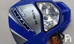 Honda original headlight and cover cowl or panel xrm