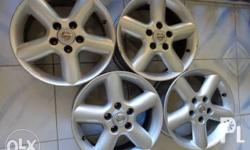 "Nissan Xtrail Stock Mags For Sale 16"", 5 Holes with"