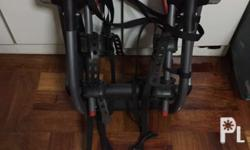 Barely used. GOOD AS NEW. Supports up to two bikes on