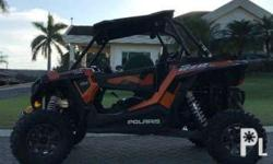 Orange RZR-1000: 2015 Polaris XP RZR-1000 4x4 Electric
