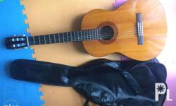 Yamaha classical guitar Slightly used with leather