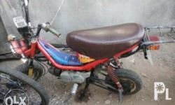 -yamaha chappy 80cc 1997 year model -complete original