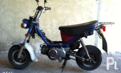 Yamaha Chappy Year : 1992 For project bike As is where