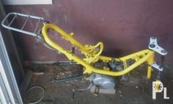 YAMAHA LB50 Chappy Parts * Chassis (newly painted with