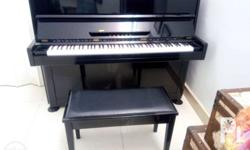 Almost new great sound and touch perfect piano good