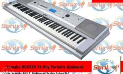 Features: - 76 piano-style keys with Graded Soft Touch