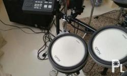 Dtx 700 pro series drums with full PA system