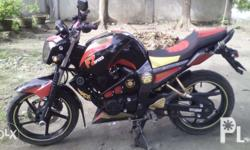 Yamaha fz16 very good condition color red/black already