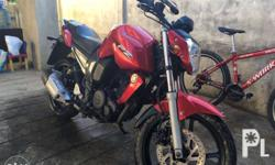 for sale yamaha fz 16 red color First owned well