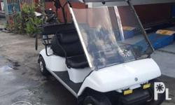 Yamaha four seater gas type new paint new upholstery