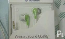 BRAND NEW YAMAHA in ear EPH-20 never used
