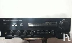 Yamaha integrated amplifier Model : AX-500 220 volts
