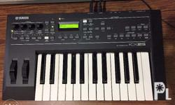 USB bus-powered MIDI keyboard controller With built-in