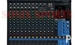 Max. 10 Mic / 16 Line Inputs (8 mono + 4 stereo) 4