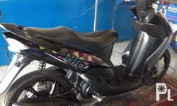 Ymaha mio automatic velt drive color violet all stock &