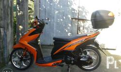 Yamaha mio motor for sale- matte orange only for 75k