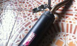 Exhaust pipe for Mio Sporty, DBS muffler and stainless