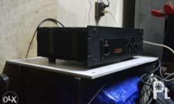 in good working condition.90 watts per channel at 8