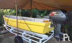 15 footer original Yamaha pangga speed boat with 40hp