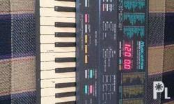 Check out this great vintage Yamaha PSS-480 keyboard.