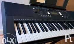 For sale yamaha psr e 343 for only 10,000 pesos call or