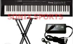The Yamaha PRSREW400 has 76 Keys & 48-note polyphony,