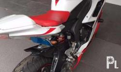 Selling our Yamaha bike for P450,000. It has km on the