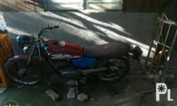 For sale yamaha rs100 Issue: late registered, ang or
