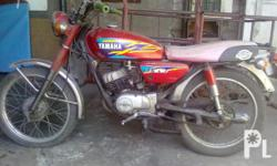 Deskripsiyon YAMAHA RS 100 FOR SALE P15,000.00 includes