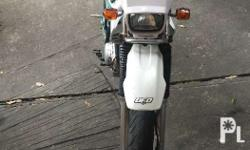 Good condition Complete documents Converted to motard
