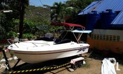 Boat is Seaworthy and in Pristine Condition. A 50 hp