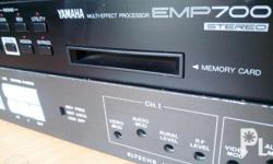 Yamaha emp700 multi effect processor 100v no memory