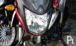 Yamaha szr 150 Model 2013 Color: red All stock engine