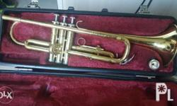 Vintage Yamaha trumpet for sale with mouth piece and