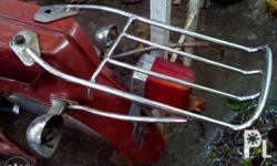 yamaha v50 rear carrier. also available legsheild bnew