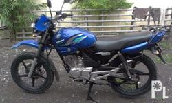selling my yamaha ybr125g 2013 reduced price from 52k