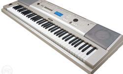 -76 piano-style keys with Graded Soft Touch action,